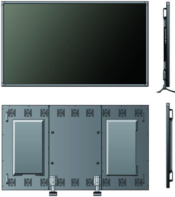 نمایشگر LCD با نور پس زمینه LED 75 اینچ