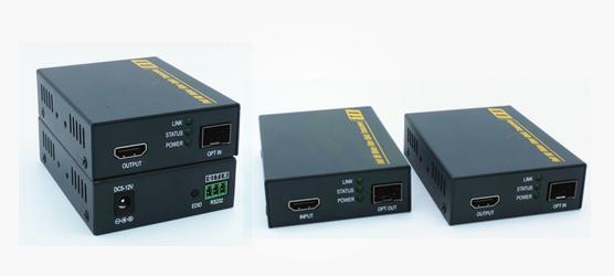 Extensor de fibra HDbitT HDMI sobre IP