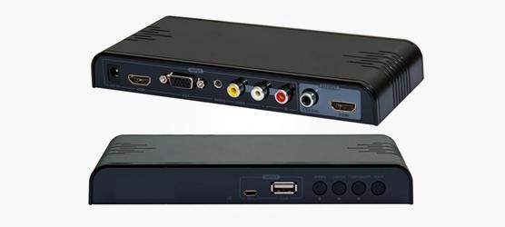 Przełącznik MINI MHL + USB + VGA + AV + HDMI HDMI + konwerter HD z wieloma interfejsami COAXIAL