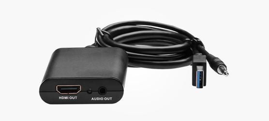 Konwerter Apple Mac USB na HDMI