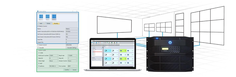 GV Series Video Wall Controller   Multi Windows Video Wall