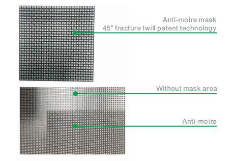 Công nghệ mặt nạ chống moire được cấp bằng sáng chế