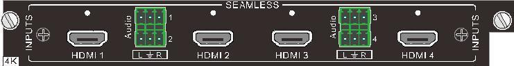 Wejście 4K HDMI