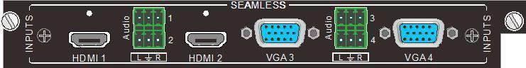 Wejście HDMI i SDI