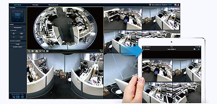 Visualized Video Wall Control