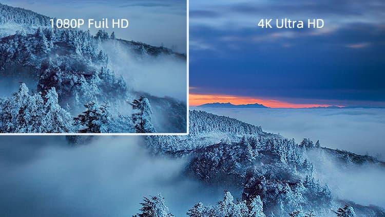 Hỗ trợ tín hiệu 4K Ultra HD