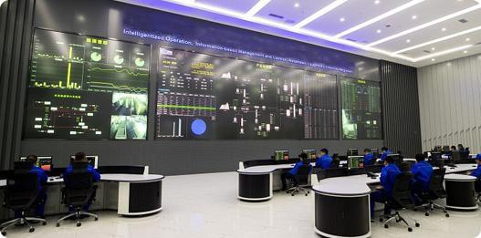 Soluções de video wall para energia e serviços públicos